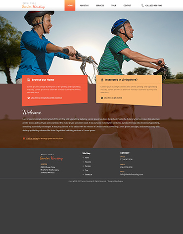 Direct Web Design - Senior Housing
