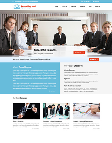 Direct Web Design - Counsulting Mart