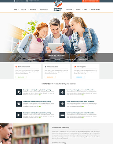 Direct Web Design - Smarter School