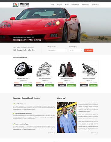 Direct Web Design - Carxpart