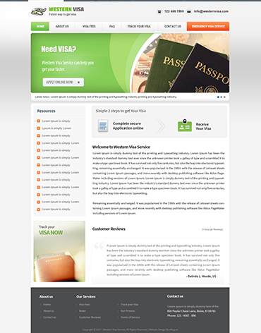 Direct Web Design - Western Visa