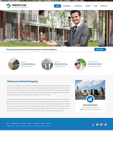 Direct Web Design - Property Link Realty Specialist