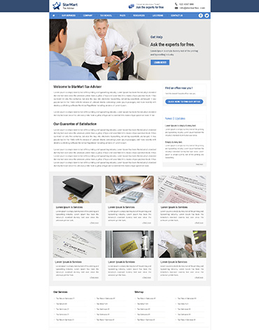 Direct Web Design - StarMart Tax Adviser