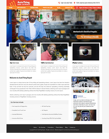 Direct Web Design - Auto Thing Repair Spacialist