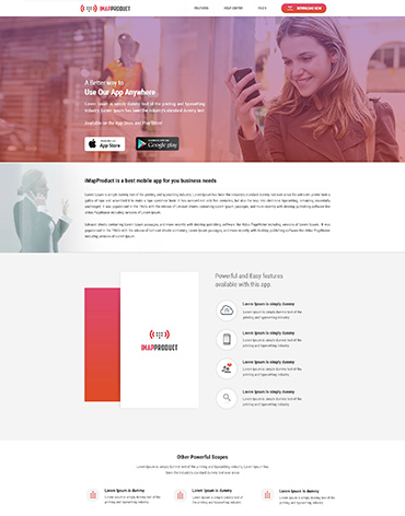 Direct Web Design - IMAP Product Website