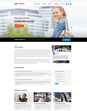 Direct Web Design - Accurate Education