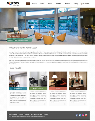 Direct Web Design - Vortex Decor Ideas