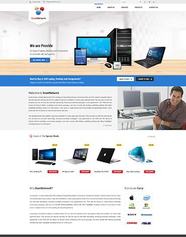 Direct Web Design - Scent Network