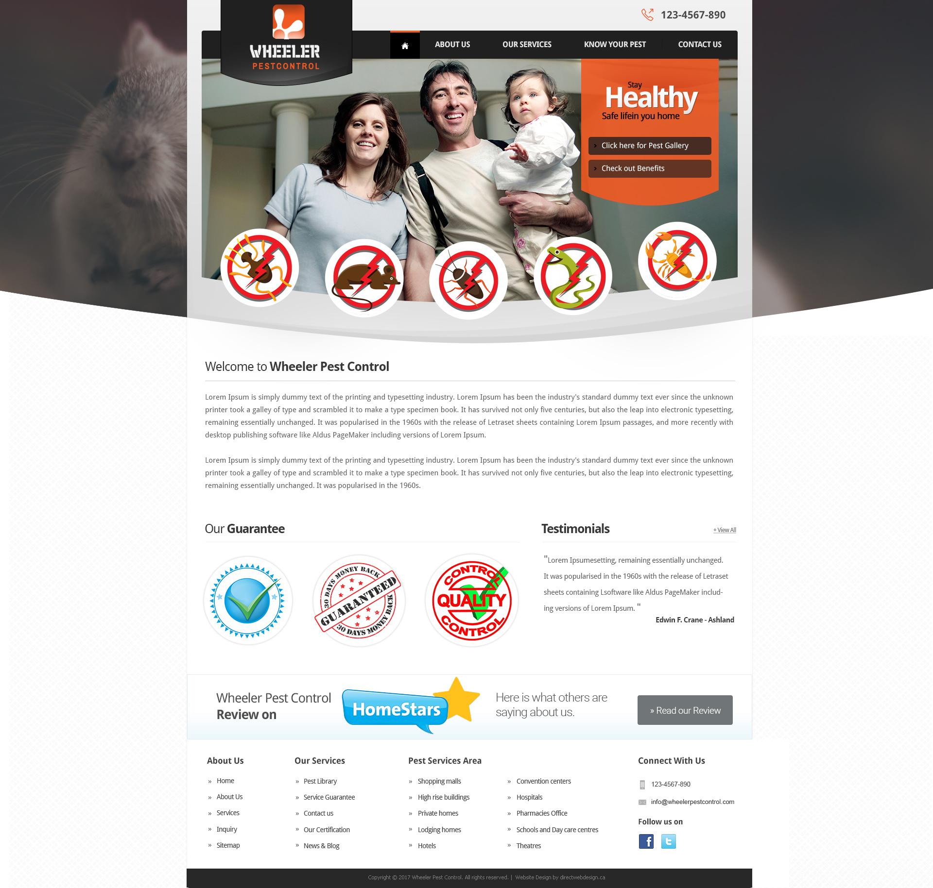 Unique customizable website templates   Direct Web Design
